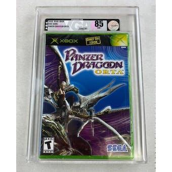 Microsoft Xbox Panzer Dragoon Orta VGA 85 NM+ Silver Brand New Sealed