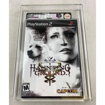 Sony PlayStation 2 (PS2) Haunting Ground VGA 85 NM+ Silver Brand New Sealed