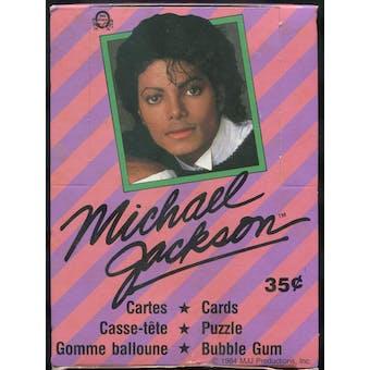 Michael Jackson Series 1 Wax Box (1984 O-Pee-Chee)