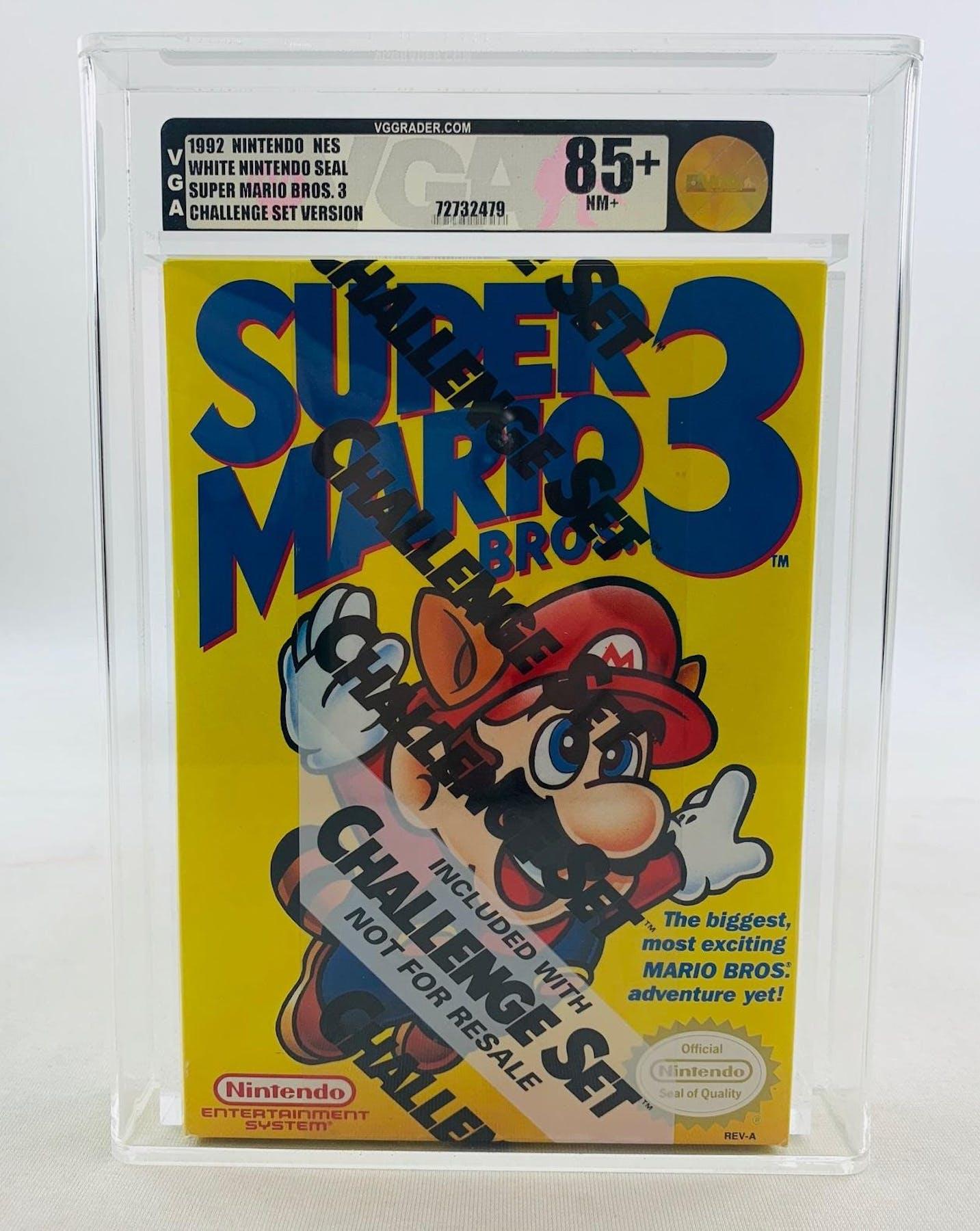 Nintendo (NES) Super Mario Bros. 3 Challenge Set VGA 85+ NM+ ... c418852d5a
