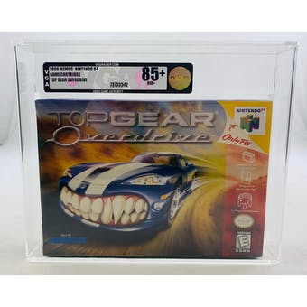 Nintendo 64 (N64) Top Gear Overdrive VGA 85+ NM+ GOLD NEAR MINT Factory Sealed