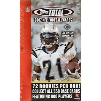 2007 Topps Total Football Hobby Box