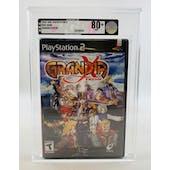 Sony PlayStation 2 (PS2) Grandia Xtreme VGA 80+ NM NEAR MINT Sealed