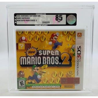 Nintendo 3DS NEW Super Mario Bros. 2 VGA 85 NM+ NEAR MINT Sealed
