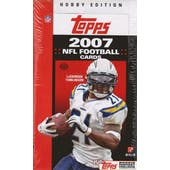 2007 Topps Football Hobby Box