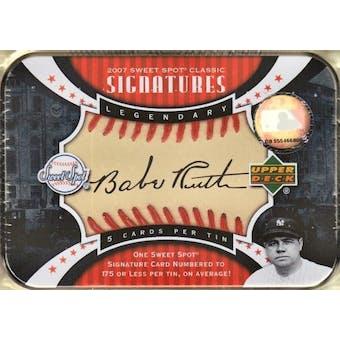 2007 Upper Deck Sweet Spot Classic Baseball Hobby Box