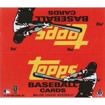 2007 Topps Series 1 Baseball 24-Pack Box (7 cards per pack)