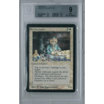 Magic the Gathering Beta Samite Healer BGS 9 (8.5, 9.5, 9.5, 9.5)