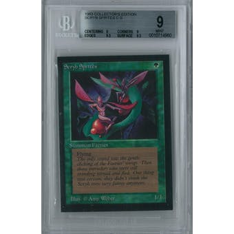 Magic the Gathering Collector's Edition CE IE Scryb Sprites BGS 9 (9, 9, 9.5, 9.5)