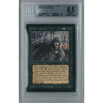 Magic the Gathering Collector's Edition CE IE Zombie Master BGS 8.5 (8, 9.5, 9.5, 9.5)