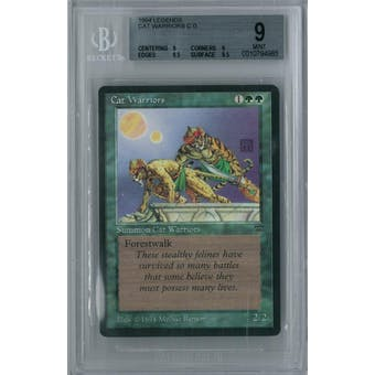 Magic the Gathering Legends Cat Warriors BGS 9 (9, 9, 9.5, 9.5)