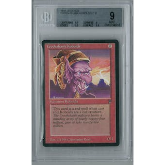 Magic the Gathering Legends Crookshank Kobolds BGS 9 (8.5, 9, 9.5, 9.5)