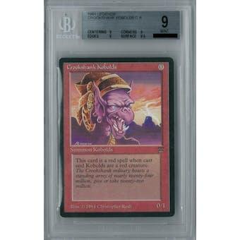 Magic the Gathering Legends Crookshank Kobolds BGS 9 (9, 9, 9, 9.5)
