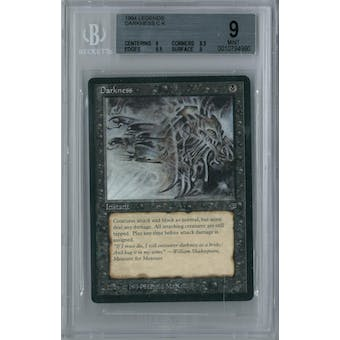 Magic the Gathering Legends Darkness BGS 9 (9, 8.5, 9.5, 9)
