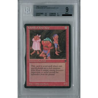 Magic the Gathering Legends Kobolds of Kher Keep BGS 9 (9.5, 9, 9.5, 8.5)