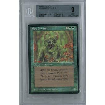 Magic the Gathering Legends Moss Monster BGS 9 (9.5, 9, 9, 9.5)
