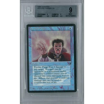 Magic the Gathering Legends Psychic Purge BGS 9 (9, 9, 9.5, 9.5)