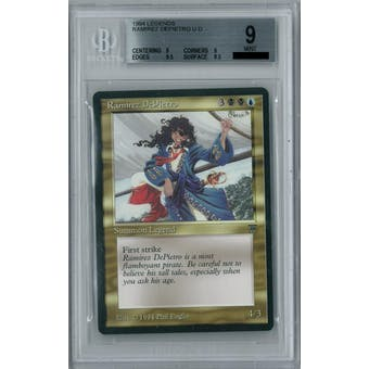 Magic the Gathering Legends Ramirez DePietro BGS 9 (9.5, 9, 9, 9.5)