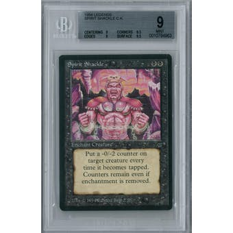 Magic the Gathering Legends Spirit Shackle BGS 9 (9, 9.5, 9, 9.5)