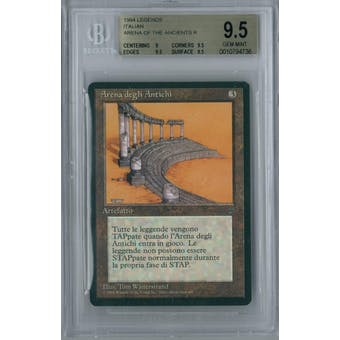 Magic the Gathering Italian Legends Arena of the Ancients BGS 9.5 (9, 9.5, 9.5, 9.5)