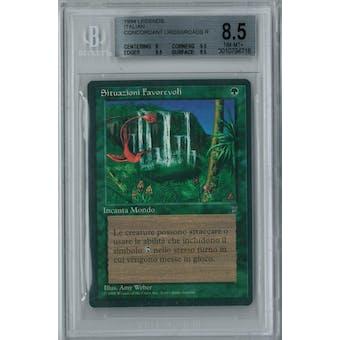 Magic the Gathering Italian Legends Concordant Crossroads BGS 8.5 (8, 9.5, 9.5, 9.5)