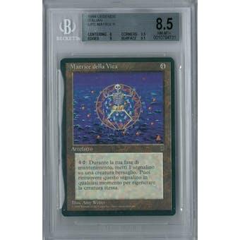 Magic the Gathering Italian Legends Life Matrix BGS 8.5 (8, 9.5, 9, 9.5)