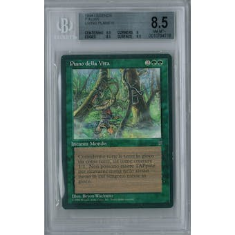 Magic the Gathering Italian Legends Living Plane BGS 8.5 (8.5, 9, 8.5, 9.5)