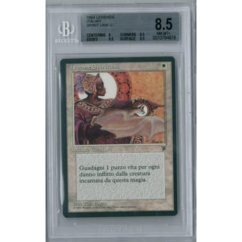 Magic the Gathering Italian Legends Spirit Link BGS 8.5 (8, 9.5, 9.5, 9.5)