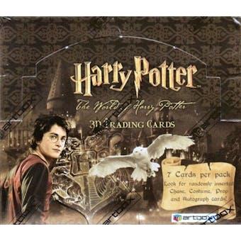 Harry Potter 3-D Hobby Box (2007 Artbox)