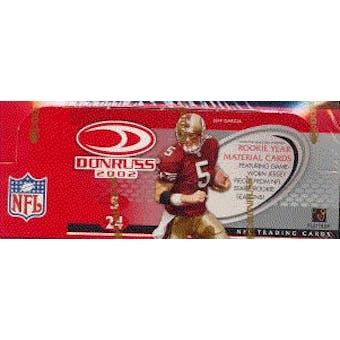 2002 Donruss Football Hobby Box