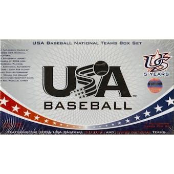 2007 Team USA Baseball Factory Set (Box) Jake Arrieta Rookie