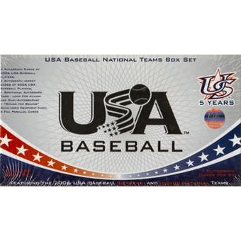 2007 Team USA Baseball Factory Set (Box) Jake Arrieta Rookie