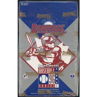 1996 Donruss Series 2 Baseball Hobby Box
