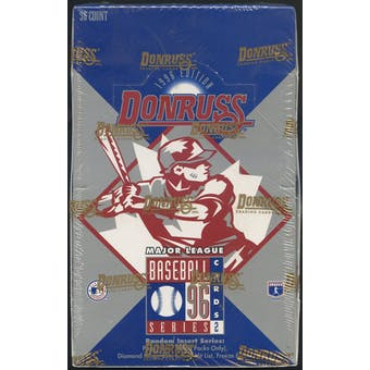 1996 Donruss Series 2 Baseball Hobby Box