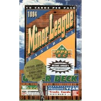 1994 Upper Deck Minor League Baseball Jumbo Box