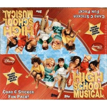 High School Musical Hobby Box (2007 Topps)