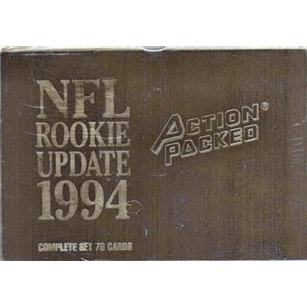 1994 Action Packed Rookie Update Football Hobby Set