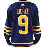 Jack Eichel Autographed #9 Buffalo Sabres Blue Hockey Jersey