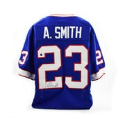 Antowain Smith Autographed Buffalo Bills Football Jersey