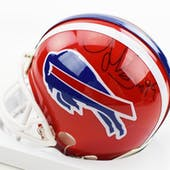 Antowain Smith Autographed Buffalo Bills Football Mini Helmet
