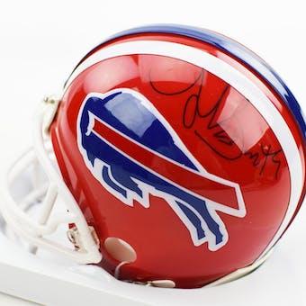 Antowain Smith Autographed Buffalo Bills Football Mini Helmet