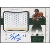 2017/18 Panini National Treasures #140 Sterling Brown Horizontal Rookie Patch Auto #36/49