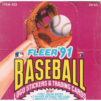 1991 Fleer Baseball Cello Box