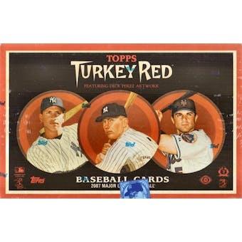 2007 Topps Turkey Red Baseball Hobby Box
