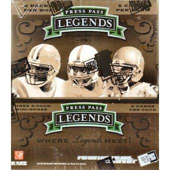 2007 Press Pass Legends Football Hobby Box