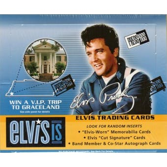 Elvis IS 24-Pack Box (2007 Press Pass)