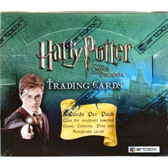 Harry Potter Order of the Phoenix Hobby Box (2007 Artbox)
