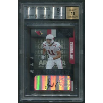 2004 Playoff Contenders #151 Larry Fitzgerald Rookie Auto /50 BGS 9 (MINT) VERY RARE!!!