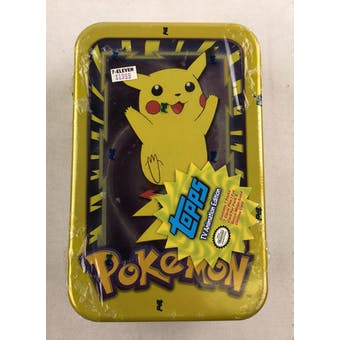 Pokemon TV Animation Edition Card Tin (Box) (1999 Topps) - Pikachu art