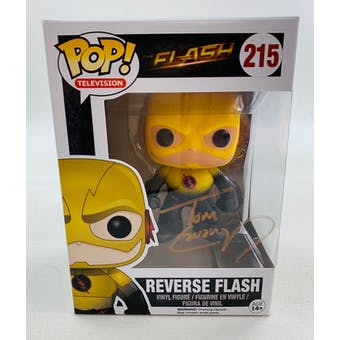 DC CW Reverse Flash Funko POP Autographed by Tom Cavanagh